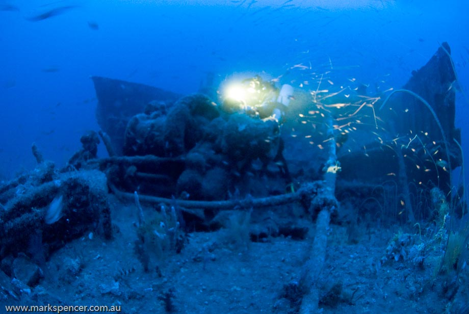 Bow of SS Wear Wreck