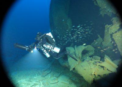 Broken hull of William Dawes
